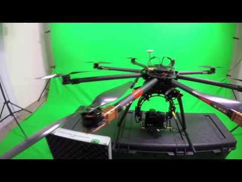 My Heavy Lifter Octocopter Drone Setup for Aerial Cinematography