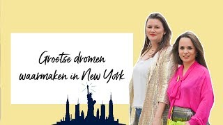 Naar New York en voorbereiding op samenwerking met Gabby Bernstein met Dolly