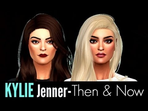 kylie jenner then now the sims 4 create a sim youtube