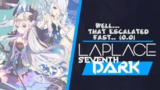 Laplace: Seventh Dark - First Impressions 2018 - Well.. That Escalated Quickly.. \(〇Δ〇\)