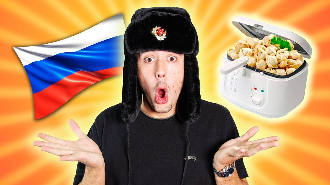 CrispyRob frittiert RUSSISCHES ESSEN! ????????