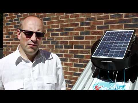 Solar Whiz - Roof Ventilation & Heat Extraction for Cooling (Short Version)