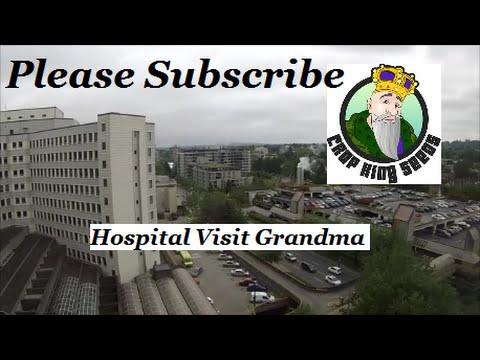 Trip To Vancouver - Crop King Seeds - Visiting Grandma At Vancouver General Hospital