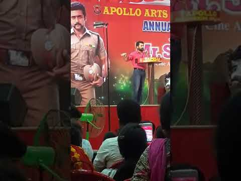 Actor Suriya speech in Apollo arts & Science College Annual Day Function - 2018