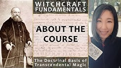 Witchcraft Fundamentals: About the Course