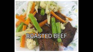 How to cook Roast Beef/Delicious Roast Beef/Roasted Beef Recipe/How to Roast Beef Indian Style