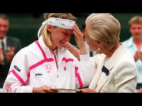 Jana Novotna on Wimbledon defeat and the Duchess of Kent