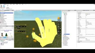 Roblox - Speed Building - God hand from inazuma eleven