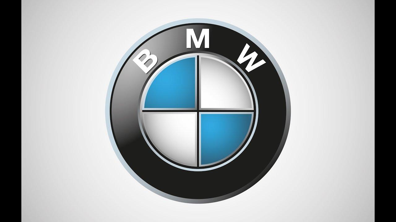 BMW logo design tutorial with adobe illustrator - YouTube