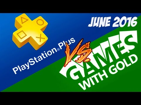 unconfirmed Xbox - June Games with Gold (Japan) vs PlayStation plus June 2016