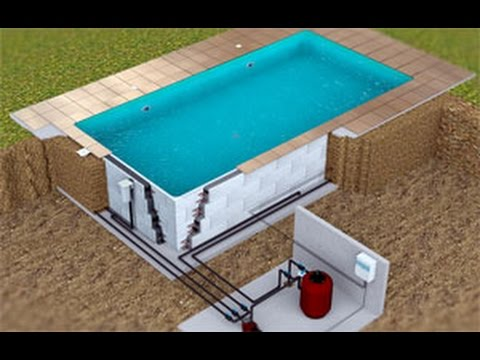 Construction piscine bloc polystyrene 49 youtube for Construction piscine tva
