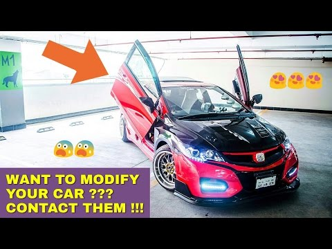 Top 5: BEST Car Modifiers in INDIA (with contact info) ! ! !