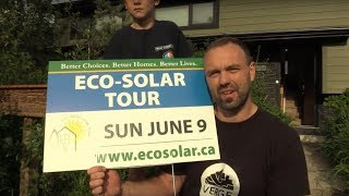 Permaculture design in action: Calgary's First EcoSolar Tour