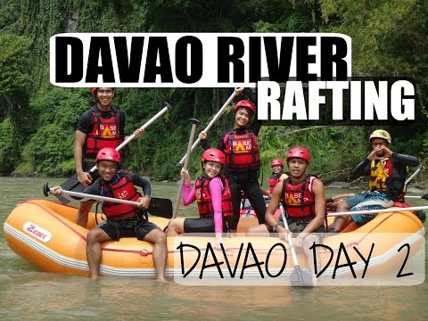 [VLOG] DAVAO RIVER WATER RAFTING!!! | Davao Day 2 ❤️
