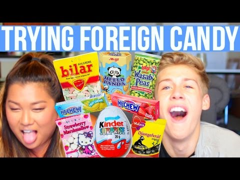 AMERICANS TRY FOREIGN CANDY