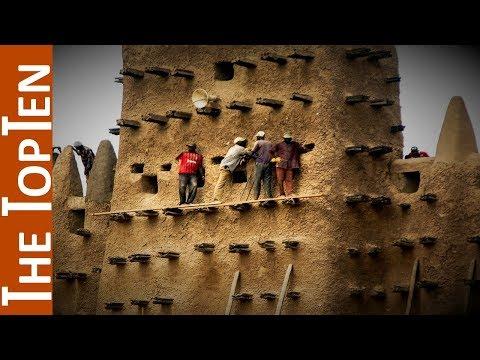 The Top Ten Amazing Mud Brick Buildings