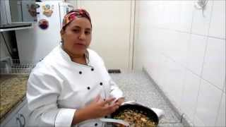 mix de legumes no forno