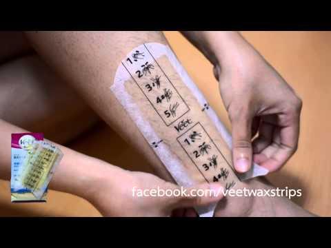 Review Veet Wax Strips