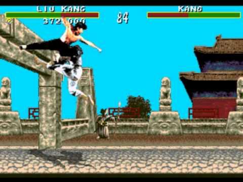 Mortal Kombat 1 Sega Genesis Very Hard Playthrough Liu Kang