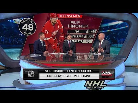NHL Tonight Discusses The Must Have Fantasy Players  Sep 26,  2019
