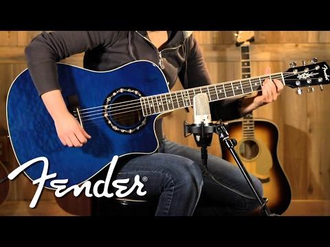 Fender Acoustic NEW T-Bucket 300 CE Demo