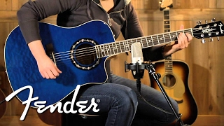 Fender Acoustic NEW T-Bucket 300 CE Demo