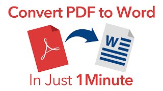 How To Convert PDF To Word Without Software (Hint: Google Drive)