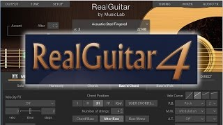 RealGuitar 3 и RealGuitar 4 - обзор и сравнение
