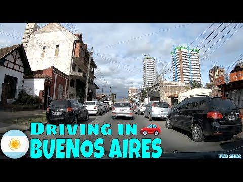 Driving In Buenos Aires (from Muñíz To San Miguel)
