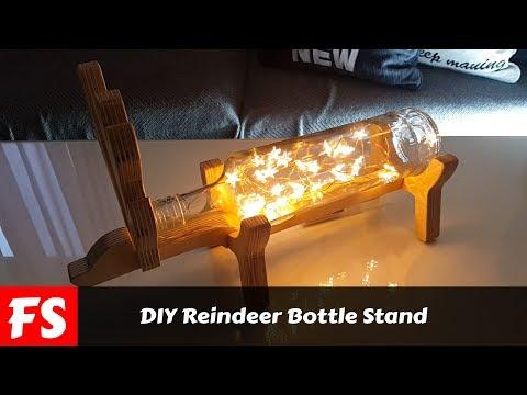 DIY Reindeer Bottle Keep (FS Woodworking)