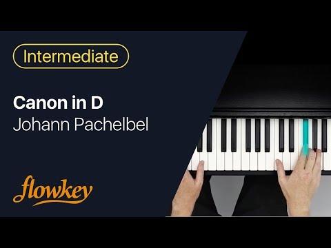 Johann Pachelbel - Canon in D (flowkey Piano Tutorial)