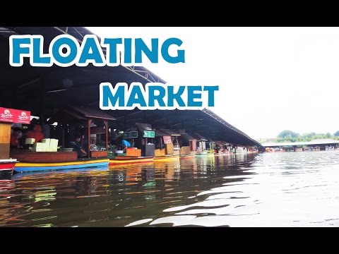 FLOATING MARKET Lembang Bandung - Full HD Video