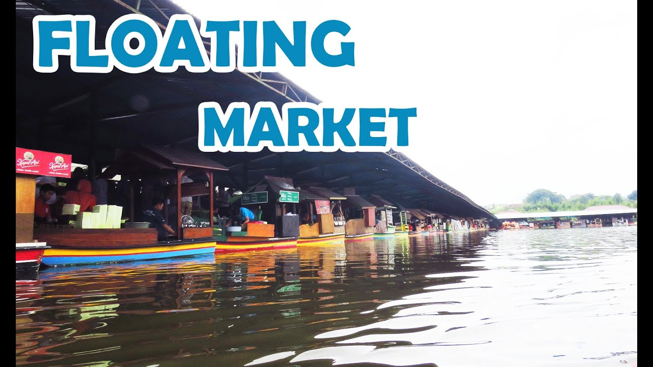 Floating Market Lembang Bandung Full Hd Video