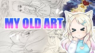 REACTING TO MY OLD ART!