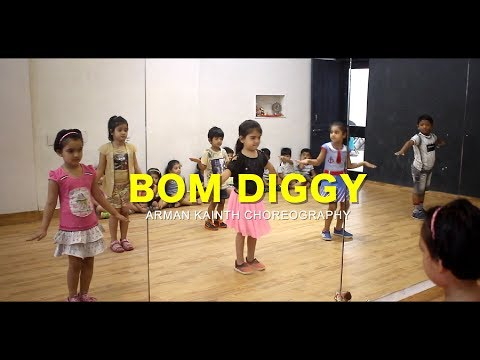 Toddlers Dance - Bom Diggy  Arman Kainth Choreography  G M Dance Centre  Zack knight