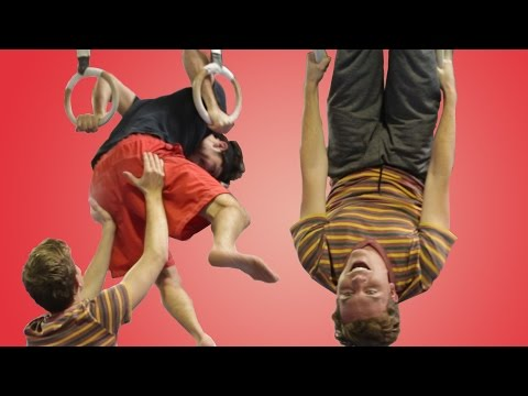 Adults Try Gymnastics For The 1st Time & It's Damn Funny