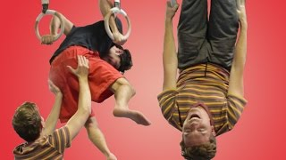People Try Gymnastics For The First Time