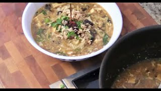 Chinese Hot And Sour Soup- Rice Noodles