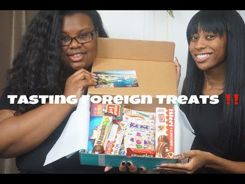 Tasting Foreign Treats!!!