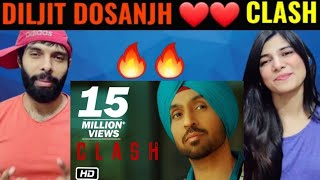 Diljit Dosanjh: CLASH (Official) Music Video   G.O.A.T.   Reaction Video   Diljit Clash Reaction