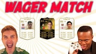 WAGER MATCH vs KSI! IN FORM RONALDO + TWO LEGENDS!