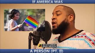 What if America was a Person.. what would you say? (How Hip Hop is Suppose to Sound)