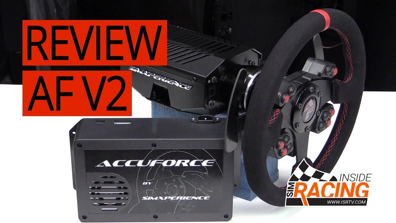 SimXperience AccuForce Pro V2 Racing Wheel Thread