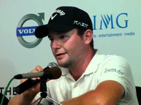 Branden Grace interview at the Volvo Golf Champions.