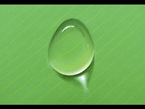How to Draw a Water Drop With Colors