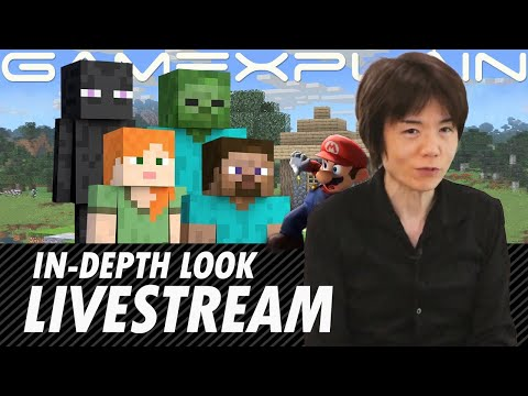 "Let's Watch Mr. Sakurai Presents ""Steve & Alex"" in Smash Bros. – (GameXplain Reacts)"