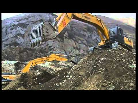 China  Tibet Gold Miners Buried Under Rock