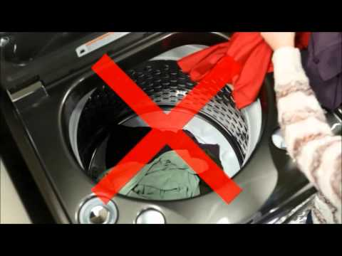 GE Appliances High Efficiency Top Load Washer with Infuser - Proper Use and Loading