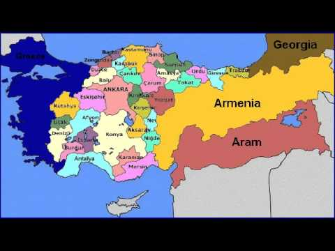 Map Of Turkey YouTube - Turkey map