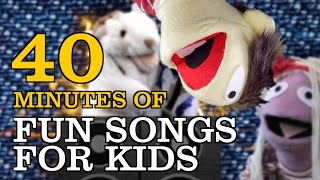 Fun Kids Songs! Over 40 minutes of original and traditional children's music.